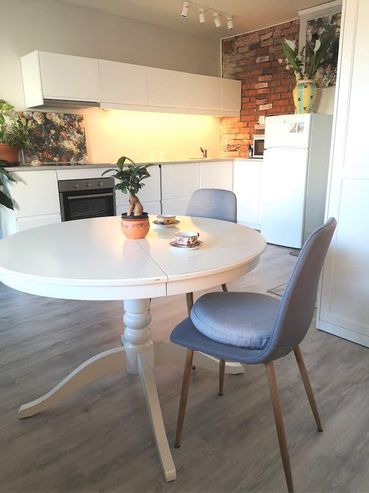 Moderne leilighet i hjertet av Oslo (Sofienberg)