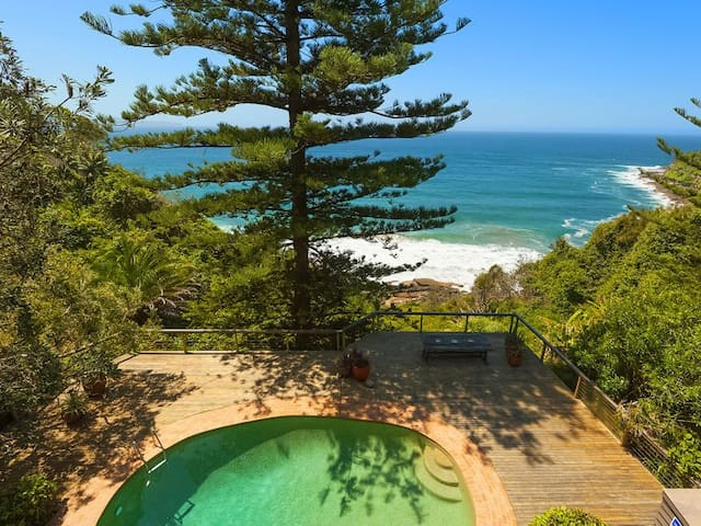 Dolphin Bay Retreat - Whale Beach - Hus