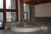 Indoor Hot Tubs!