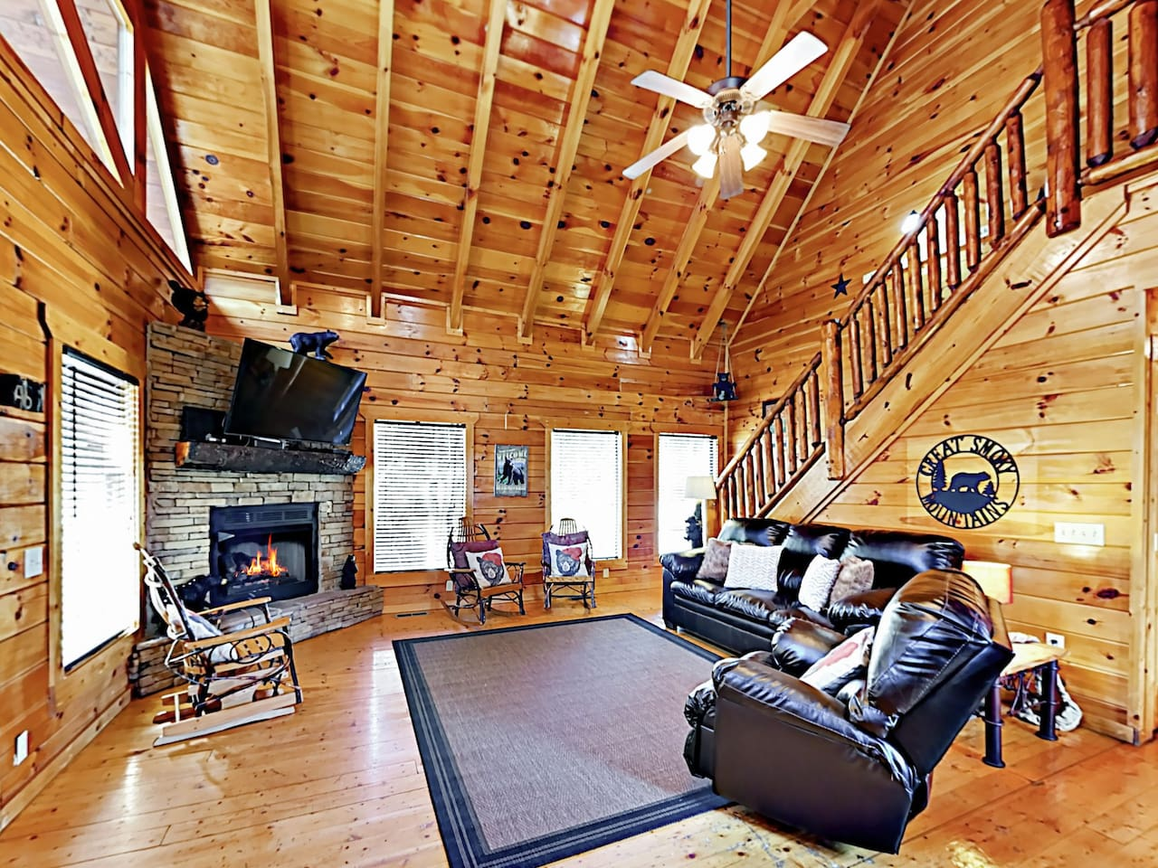 Welcome to Landis' Lookout! This stunning cabin is professionally managed by TurnKey Vacation Rentals.