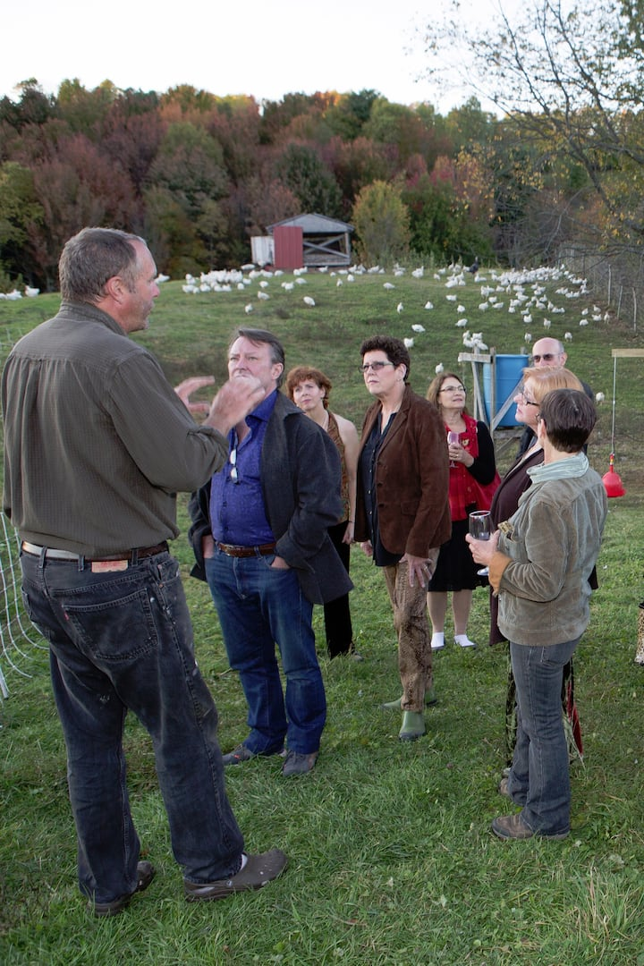 Farmer Tom explains pastured poultry