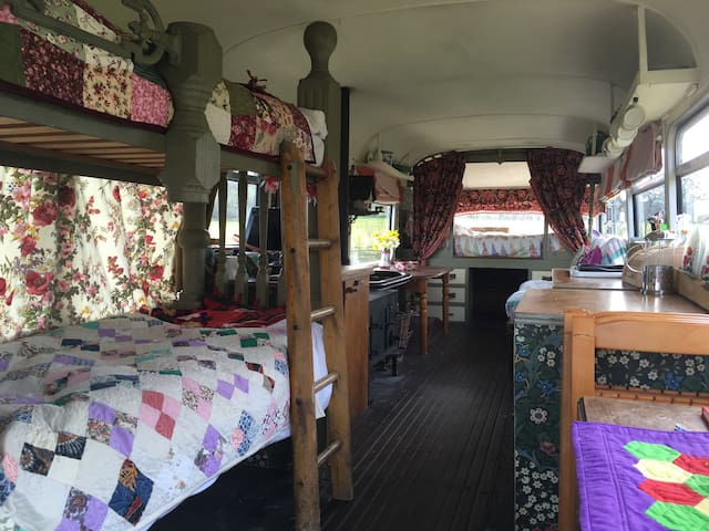 Magic Bus RV nr coastal Durdle door play garden