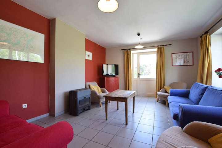 Family holiday home located in the heart of the Ardennes.