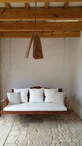 Habitacion Ovalada en casa de campo - Mahon - Huis