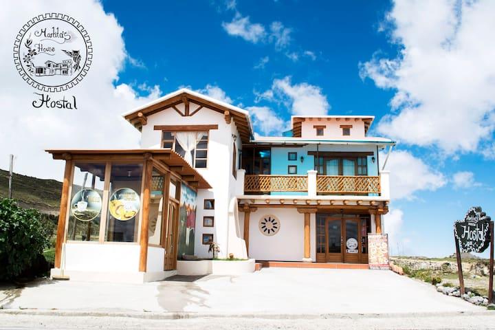 Cómodo y acogedor Hostal en Quilotoa
