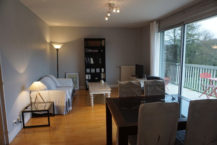 Appart entier au vert proche Chantilly - Gouvieux - Apartment