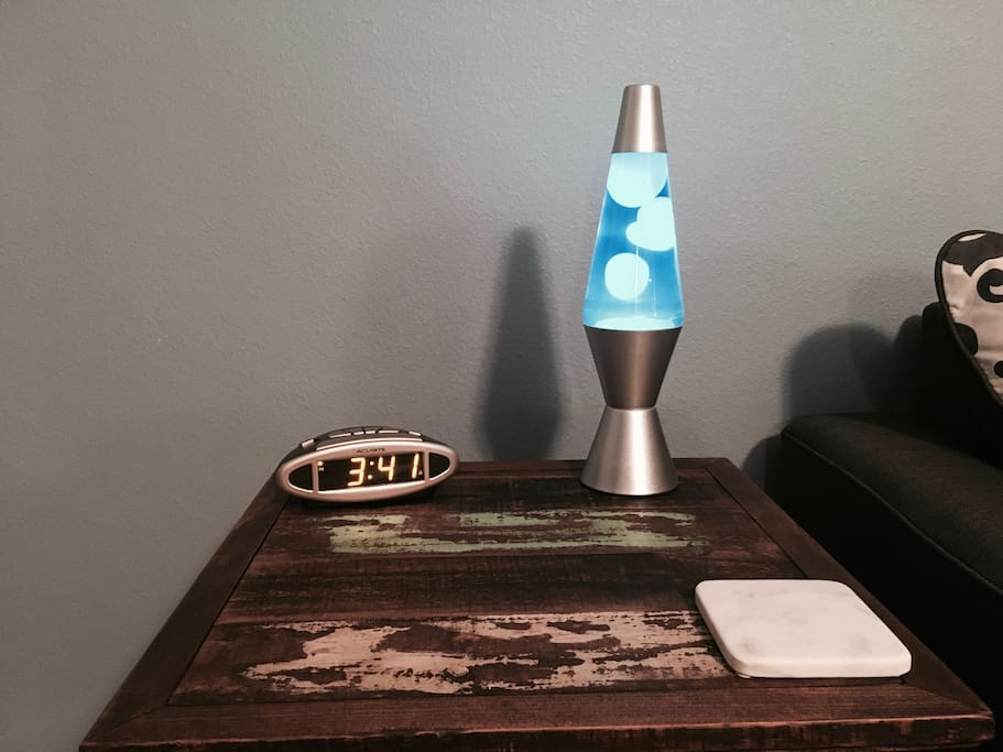 Lava lamps are a must for any room.