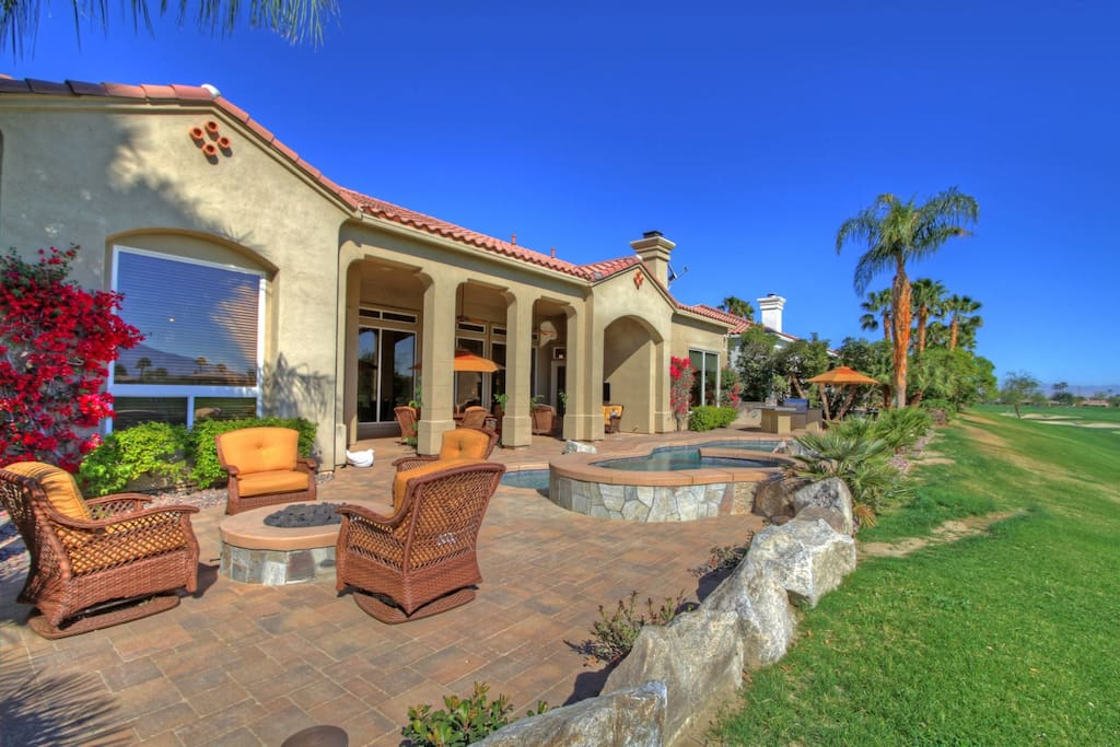 Gorgeous outdoor living at Legends at PGA