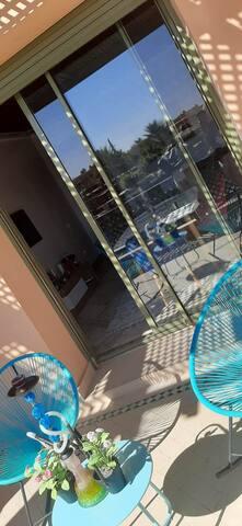 Bel appartement en plein Palmeraie de Marrakech