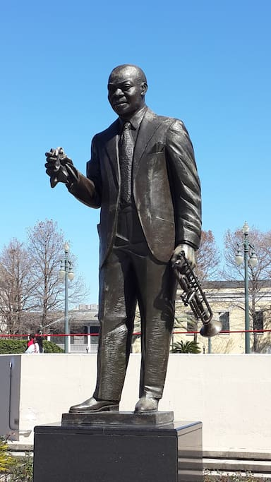 Armstrong Park statue