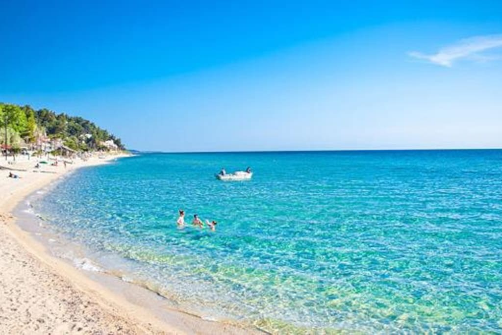 Beach in Halkidiki