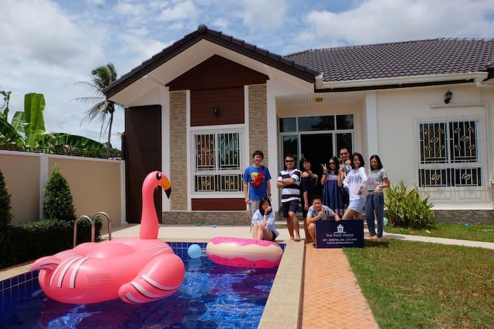 The Pool House Pattaya No.1-3Bedrooms บ้านพักพัทยา