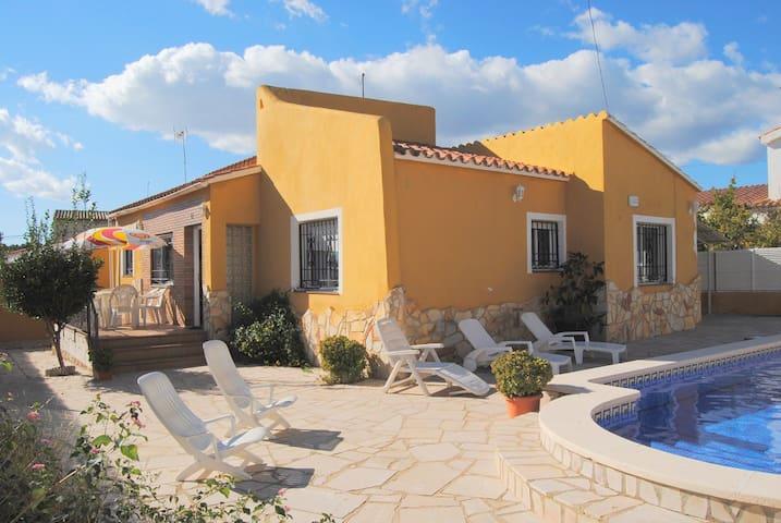 Villa Monique - Les Tres Cales - Casa