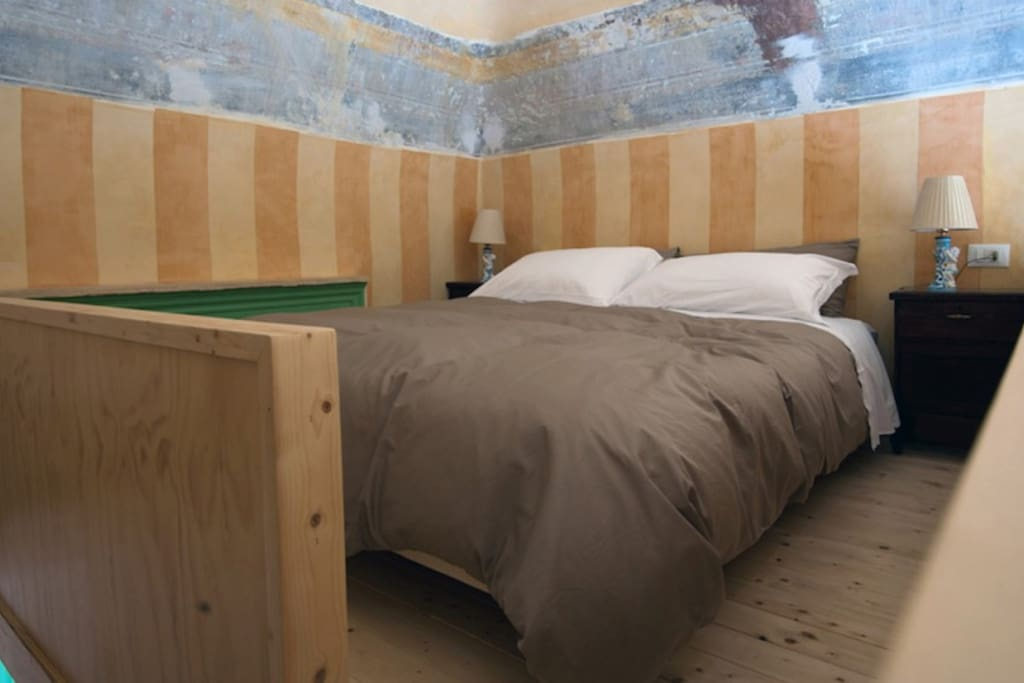 Bedroom upstairs, it can be a double bed or separate ones.