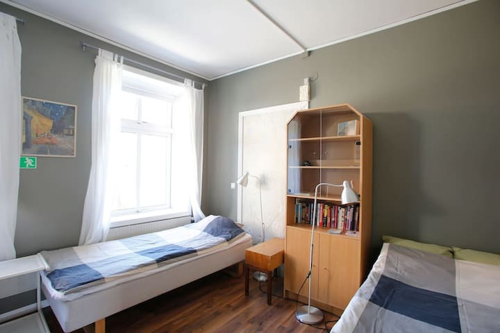 Fair 4 beds apartment close to CPH.