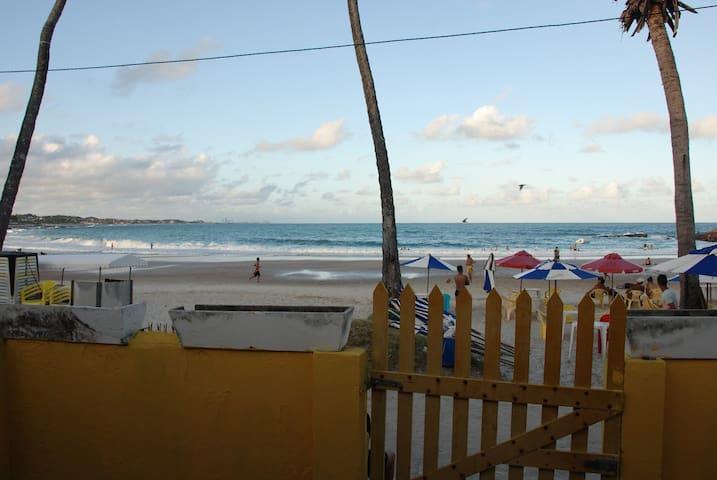Casa de Férias na Praia de Gaibú beira mar