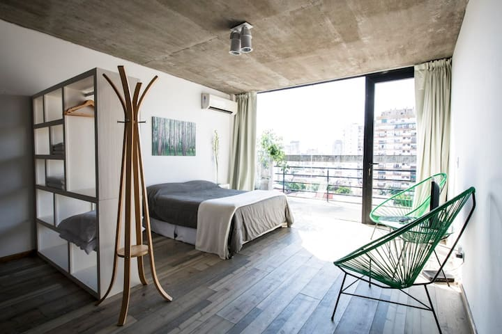 5★´s NEW Pocket Loft with GreaT ViewS @ PALERMO