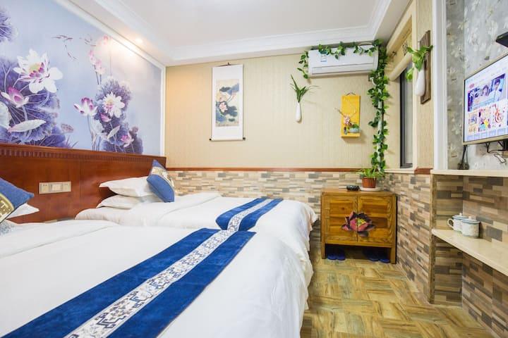 普陀山禅居一双床房