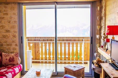 L'Alpe D'Huez Studio Cocooning Plein Sud - Huez