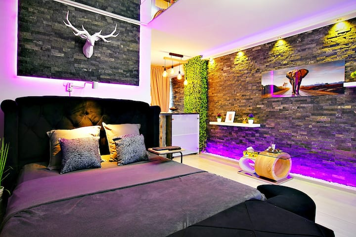 Luxury: Waterfall, Smart Home,Jacuzzy, Fireplace