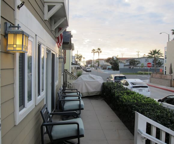 Private Studio / Steps from the Sand in Newport - Newport Beach - Hus