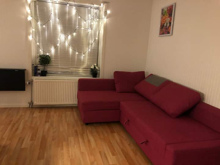 Cozy apartment with perfect location in Karlstad