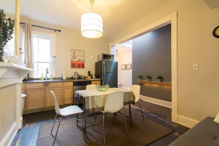 Affordable Cap Hill 2 Bedrm Loft-Style Apartment