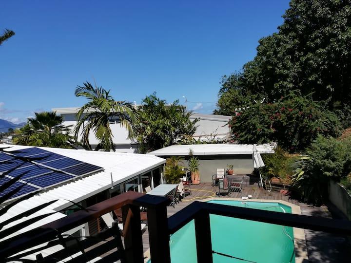 Location saisonnière :bungalow indépendant