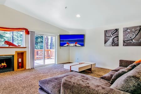 Sunny Updated 3BR by Beaches, Ski Resorts, Casinos - South Lake Tahoe - Townhouse