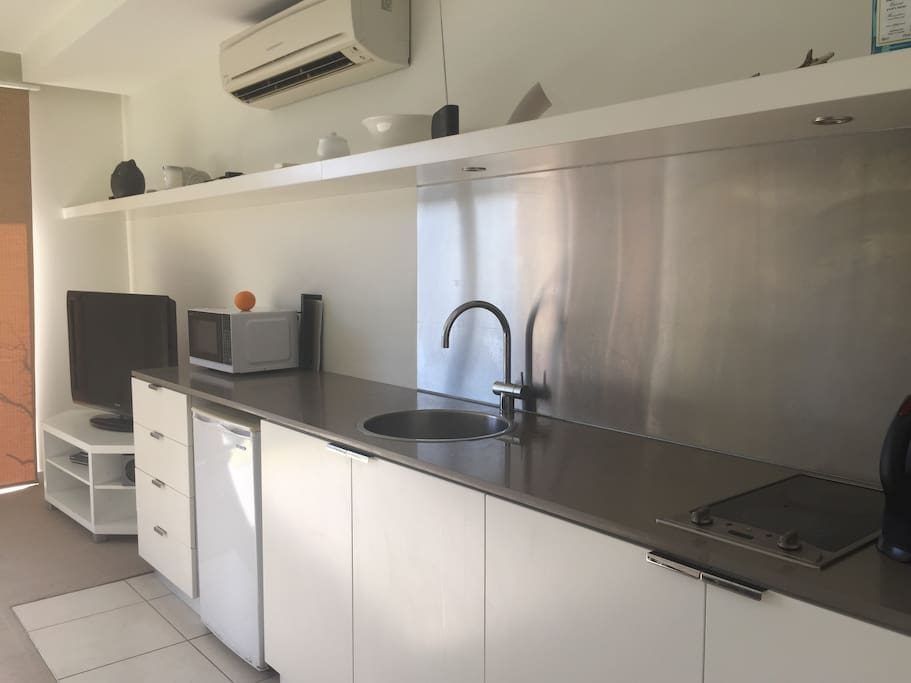 1311 has a kitchenette and is ideal for longer stays