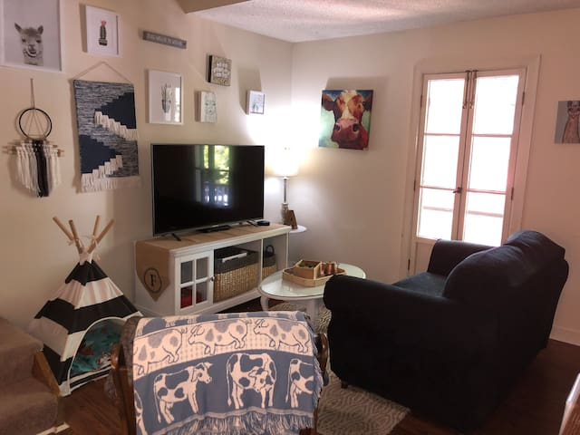 Boho cotton district apartment with loft