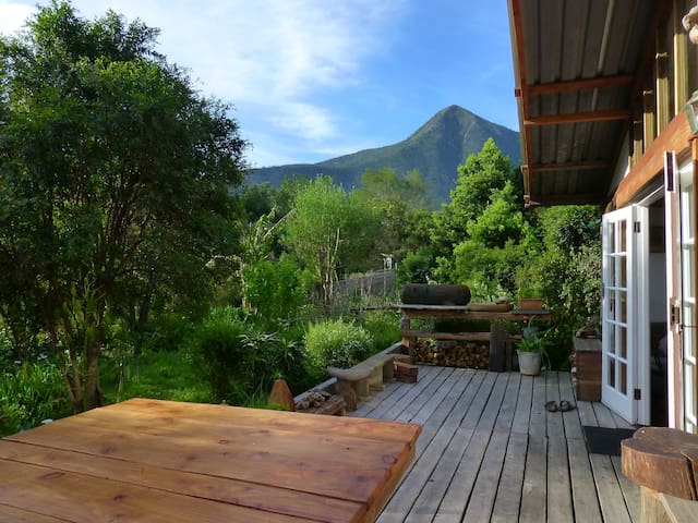 Boutique Vintage Forest Cabin,panoramic loft views - Stormsrivier - 小木屋