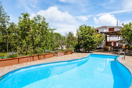 Villa Aisha peaceful with pool - Priora