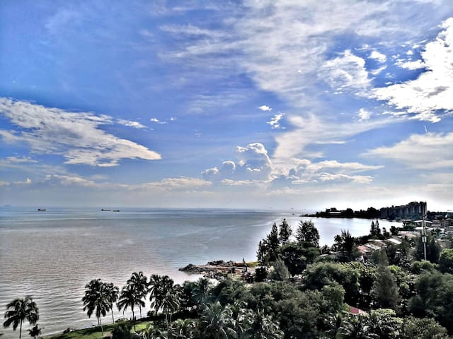 4min Klebang Beach/3 Room/Seaview