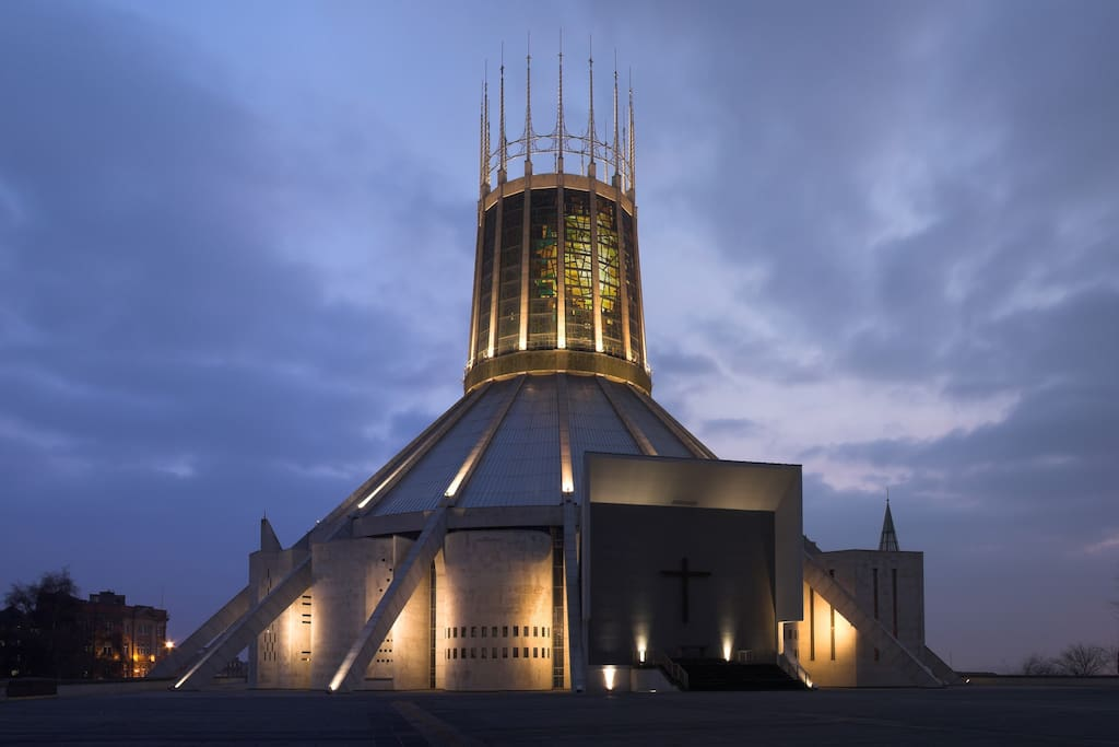 The Metropolitan cathedral,  there are charming night time views of this from the flat ! :)