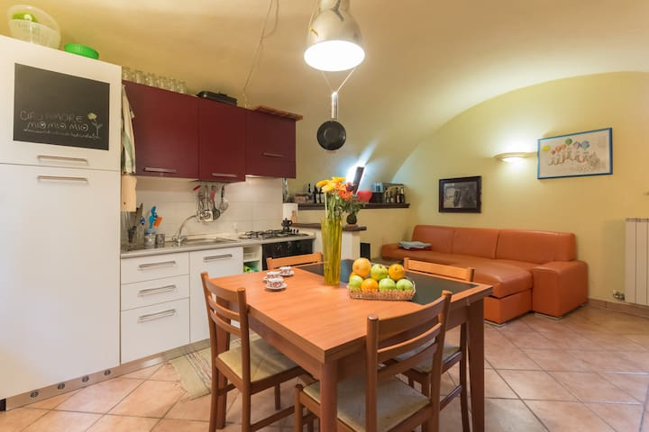 Free apartment in old town center - Ivrea - Leilighet
