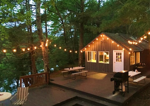 Private Island Retreat In State Forest