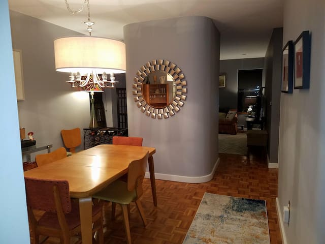 Spacious and Eclectic South End Condo