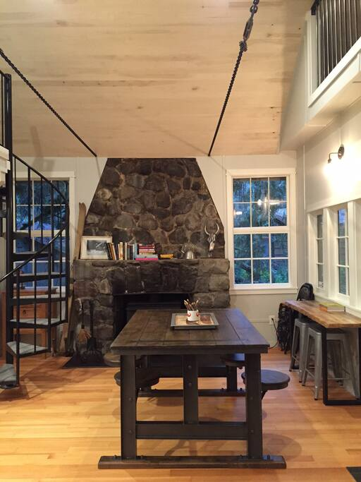 Fireplace/ Dinning