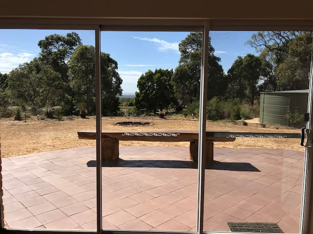 Peaceful Bush Block with glimpses of Geographe bay