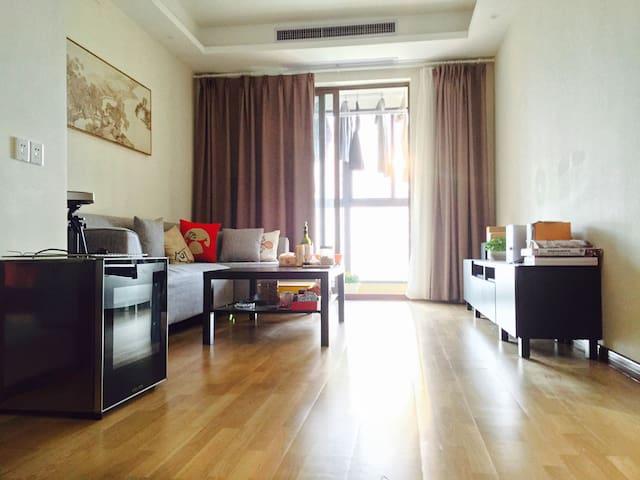 2晚起租!汉江边月湖桥畔舒适高端小区静谧空间 - Wuhan - Apartamento