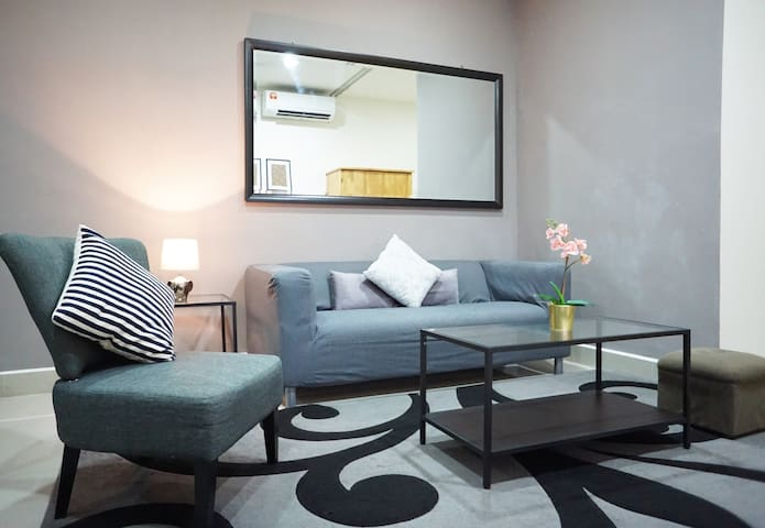 Romantic studio with Putrajaya skyline view