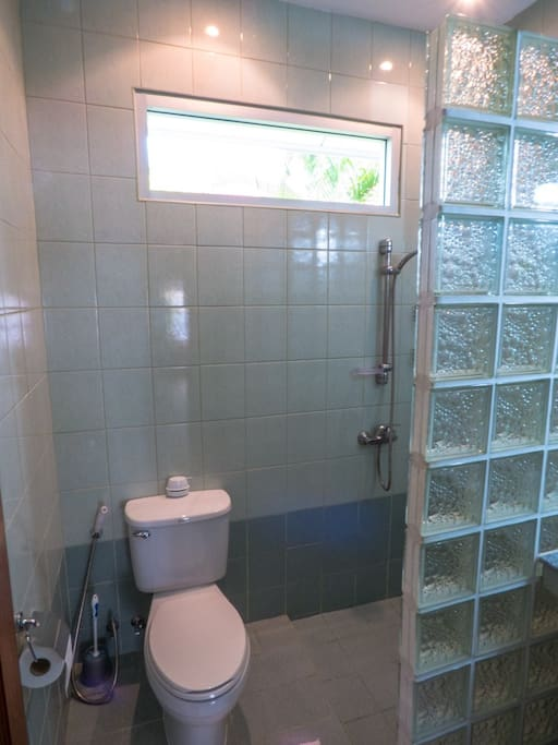 Your own private bathroom with shower and toilet