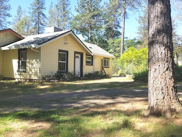 Attached Guesthouse in Sierra Trees on Canal Trail
