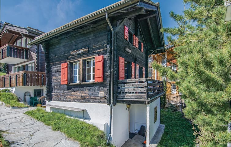 Holiday cottage with 1 bedroom on 60 m² in Saas-Fee