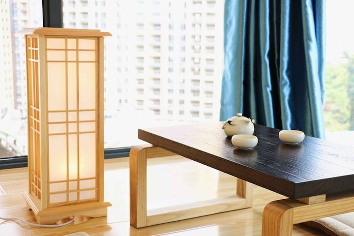 蔓心宿景观复式阳台房·新天地loft公寓