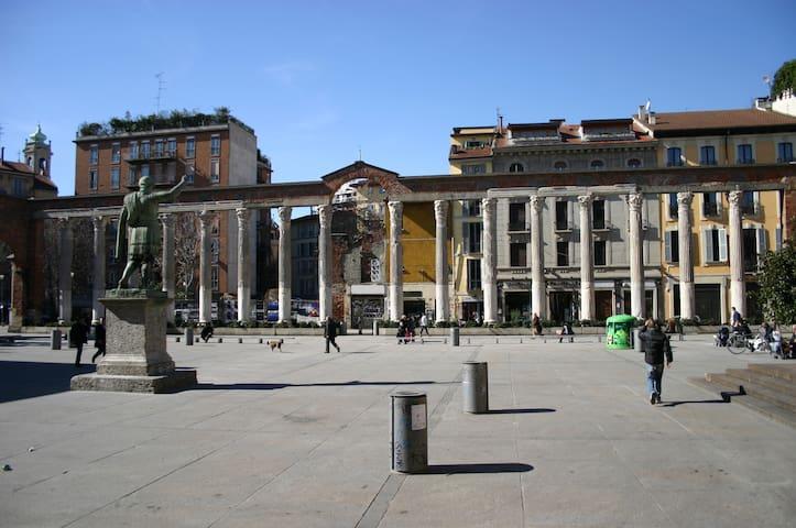Studio in the heart of Milan