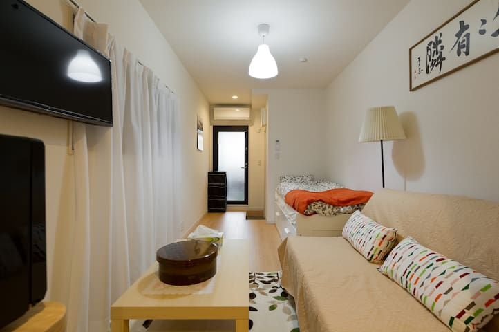 near JR Kameari sta★easy access Disney★FREE WiFi - Adachi - Wohnung