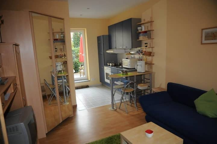 Kleines, ruhiges Appartement im Grünen