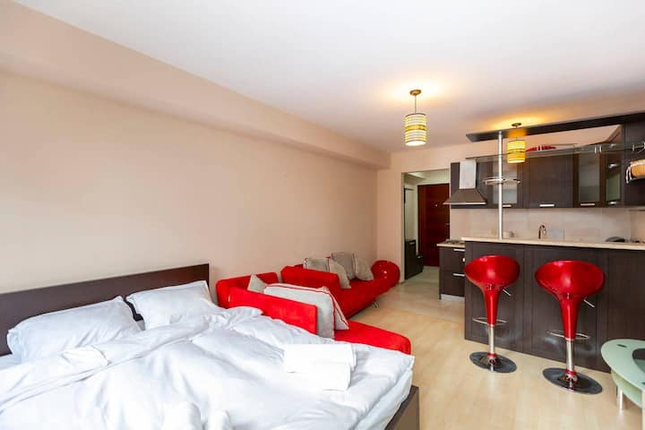 ❆Bright and Specious Studio Apartment in Gudauri❆